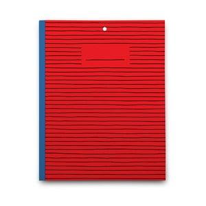 Notatnik Red Paper, czerwony