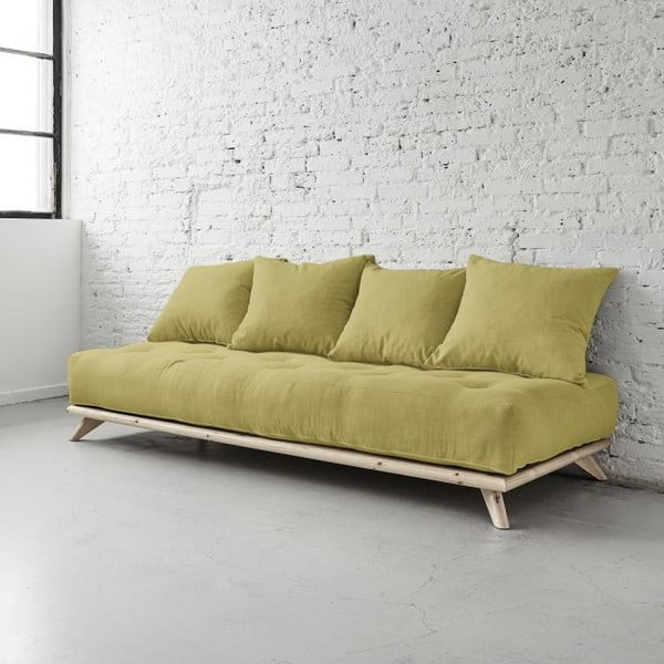 Sofa Senza Natural/Avocado Green