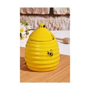 Pojemnik na miód w kształcie ula z wieczkiem Kutahya Honey