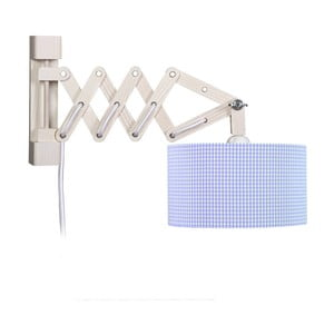 Lampa ścienna Blue Vichy