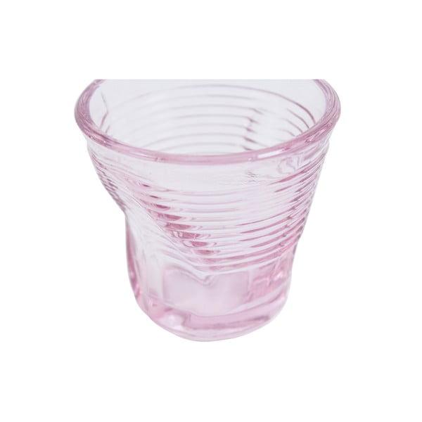 Zestaw 6 szklanek Kaleidoskop 115 ml, różowy