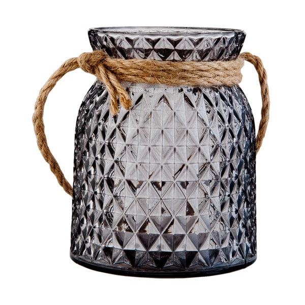 Świecznik Clayre & Eef Tealight Black, 10x12cm