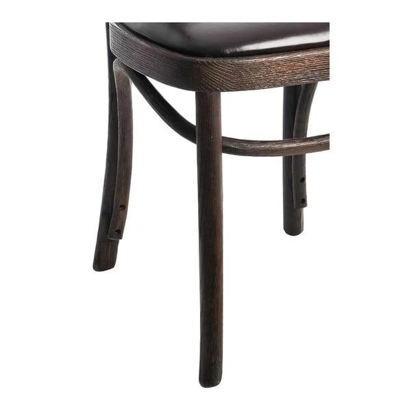 Krzesło Nail Black, 57x77 cm