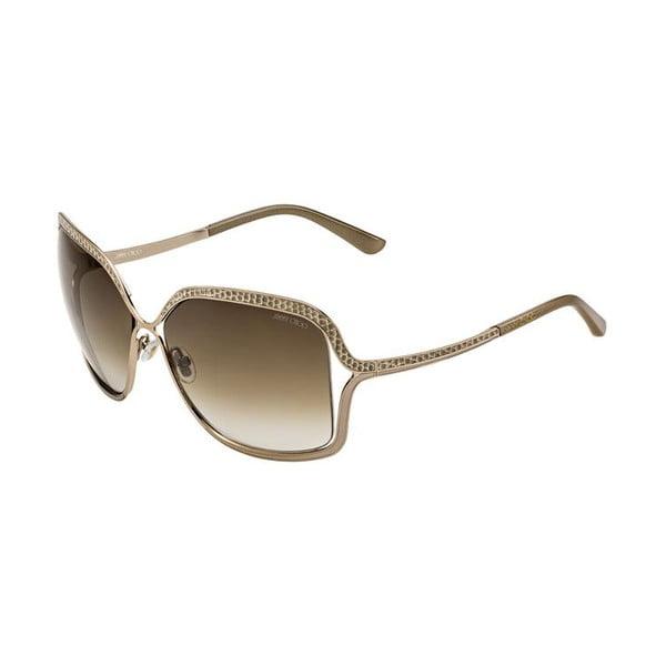 Okulary przeciwsłoneczne Jimmy Choo Sally Gold/Brown