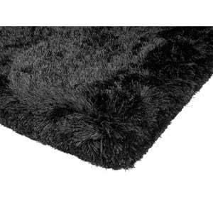 Kudłaty dywan Shaggy Plush Black, 120x170 cm