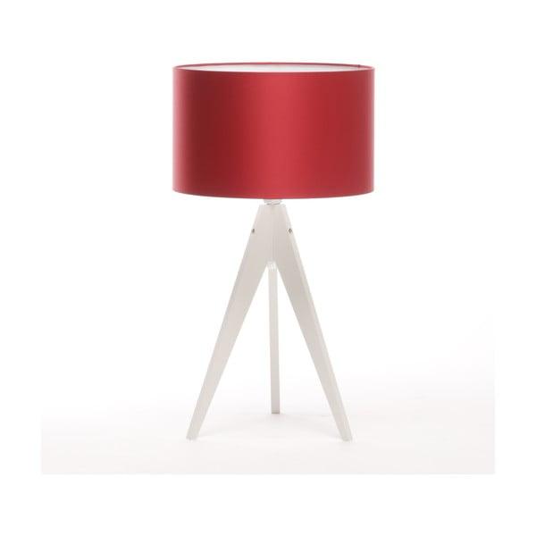 Lampa stołowa Artist Red/White, 65 cm