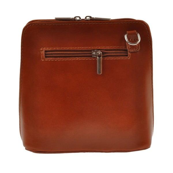 Skórzana torebka Vaire, brązowa