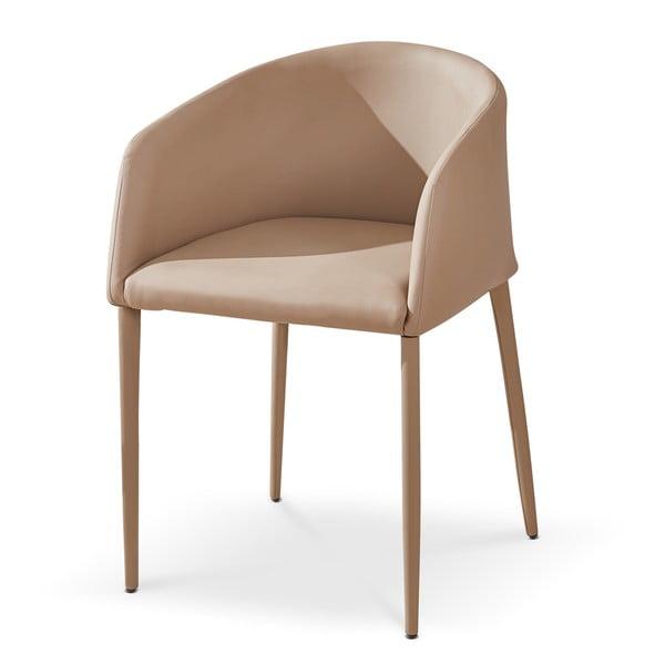 Krzesło z podłokietnikami Prima, beżowe