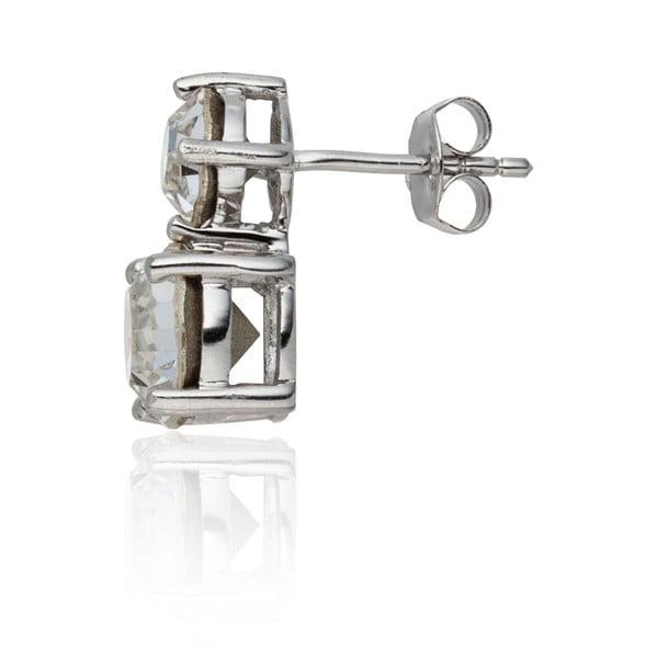 Zestaw: kolczyki i naszyjnik Prong Crystal