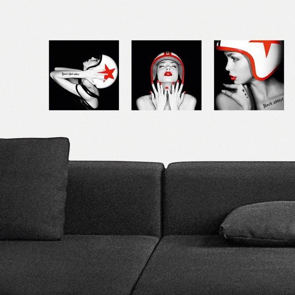 Samoprzylepne obrazy Kask, 30x30 cm