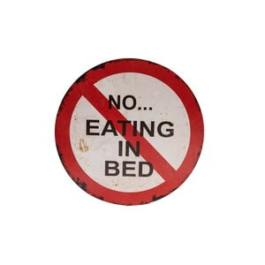 Znak Novita No Eating In The Bed