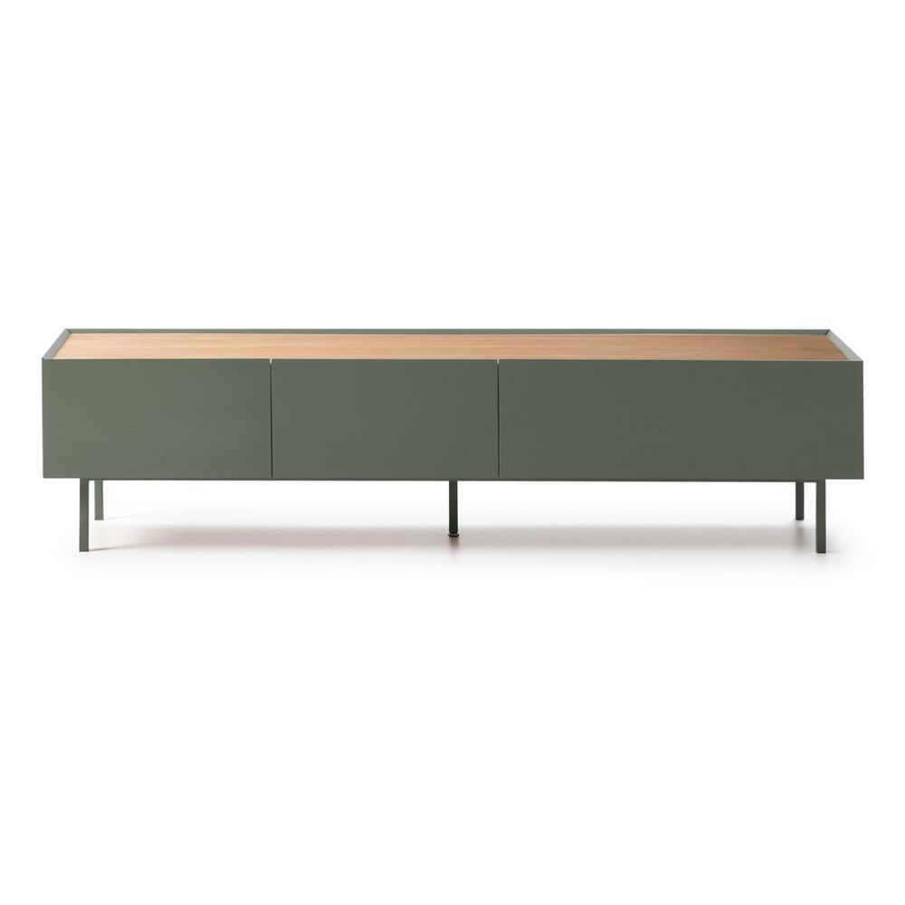 Zielony stolik pod TV Teulat Arista