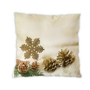 Dwustronna poduszka bawełniana Forest Christmas, 40x40 cm