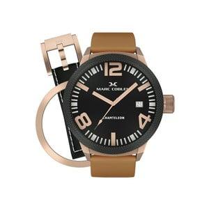 Zegarek męski Marc Coblen z dodatkowym paskiem i obręczą P38