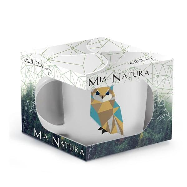 Porcelanowy kubek Wild Owl, 370 ml
