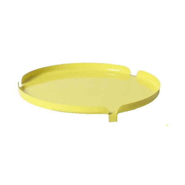Taca na stołek Centro Yellow
