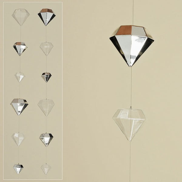 Zestaw 2 girland Diamond