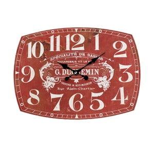 Zegar naścienny InArt Depot, czerwony