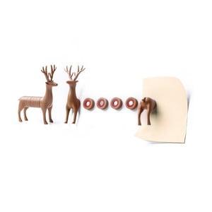 Zestaw magnesów QUALY Magnetic My Deer, jeleń
