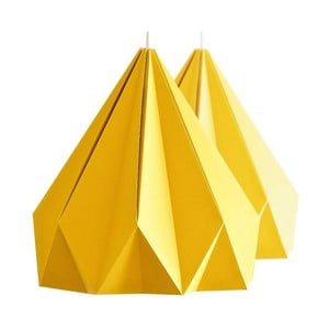 Lampa wisząca Origamica Spring Light For Two Sunny Orange