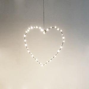 Dekoracja świetlna Opjet Coeur, 30 cm