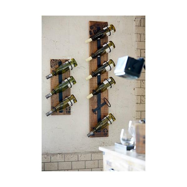 Ścienny stojak na wino Factory Shelf