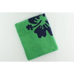 Ręcznik bawełniany BHPC Orchidea 80x150 cm, zielony