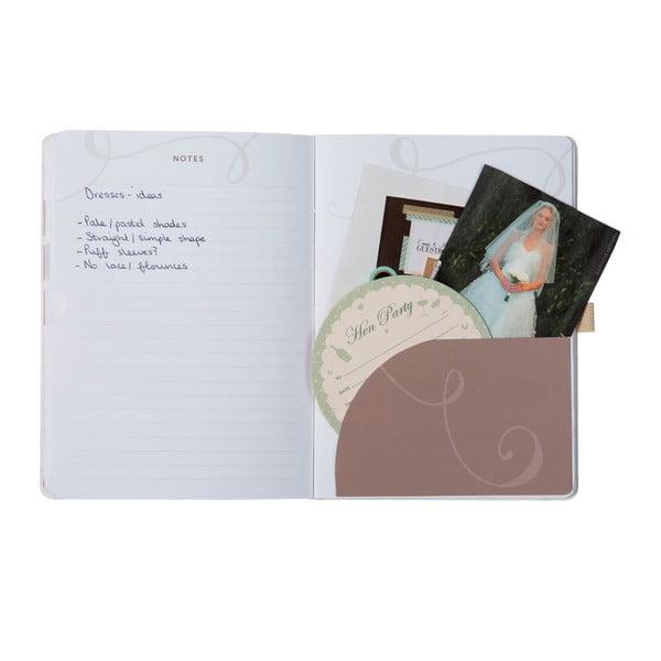 Notatnik ślubny dla druhny Busy B Wedding Planner