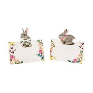 Zestaw 8 etykiet immiennych Talking Tables Bunny