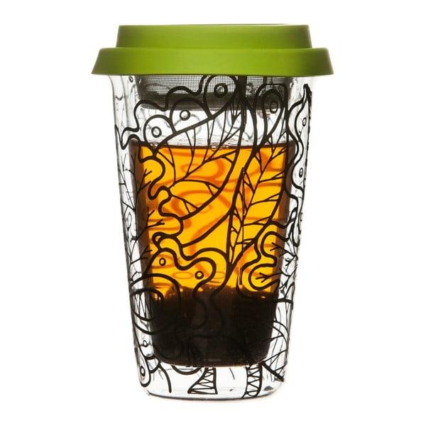 Kubek   termiczny z sitkiem do herbaty Sagaform Botanica