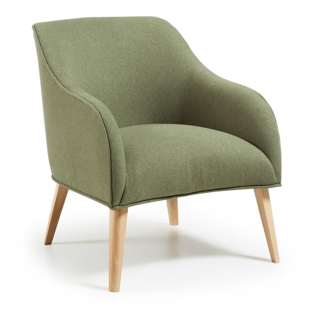 Zielony fotel La Forma Lobby