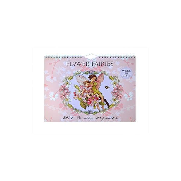 Organizer rodzinny A4 Portico Designs Flower Fairies
