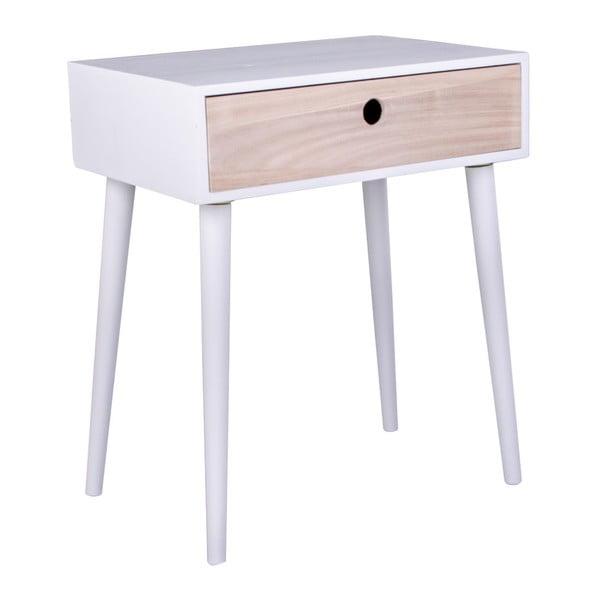 Biały stolik drewniany House Nordic Parma