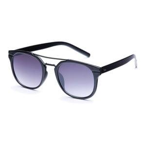 Okulary przeciwsłoneczne z czarnymi oprawkami i szarymi szkłami David LocCo Masstige Swanky