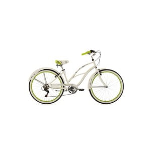 Rower Beachcruiser Bellefleur Bike White, 28""