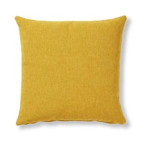 Żółta poduszka La Forma Mak, 45 x 45 cm