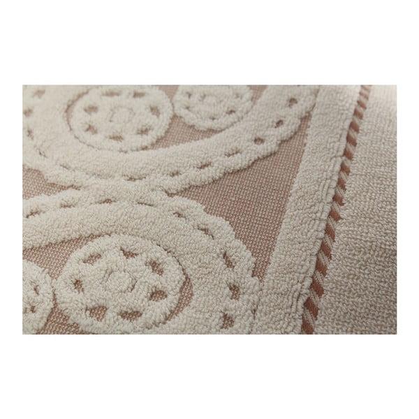Zestaw 2 ręczników Hurrem Cream, 50x90 cm
