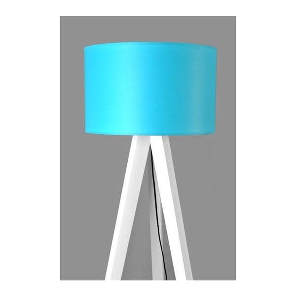 Lampa stojąca Tripod Blue/White