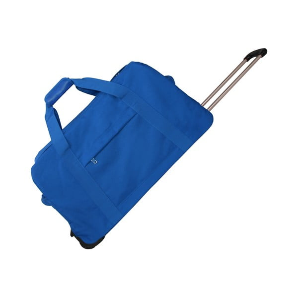 Torba podróżna na kółkach Sac Blue, 53 cm