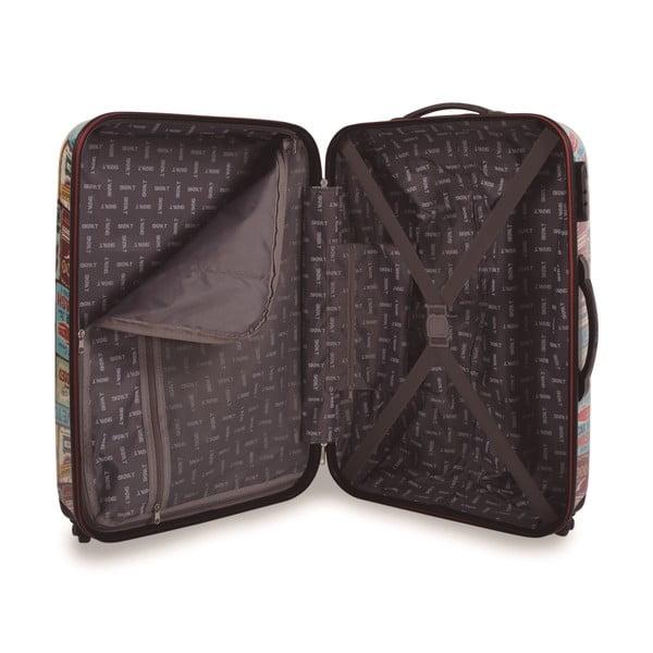 Zestaw 2 walizek Skpa-T, wzór retro