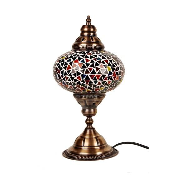 Szklana lampa Homemania Oriental, ⌀17cm