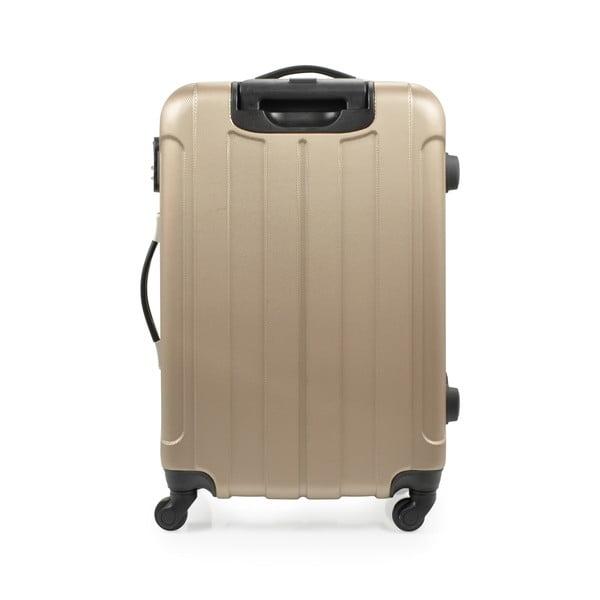 Zestaw 3 walizek Loisa, złote
