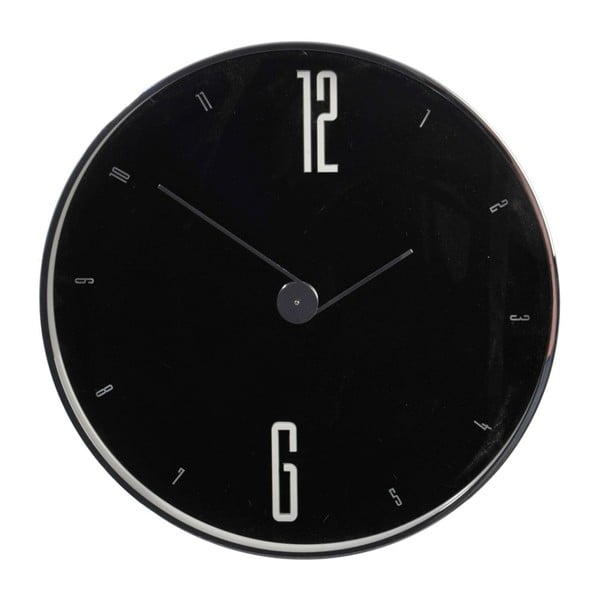 Zegar Numbers Black, 30x4,5 cm