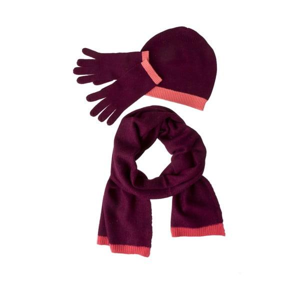 Zestaw szalika, rękawiczek i czapki Codello Poetry Grunge