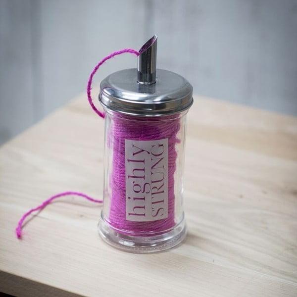Pojemnik na sznurek Pink Strung