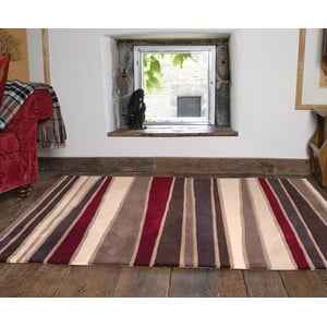 Dywan Flair Rugs Streak Brown/Red, 120x170 cm