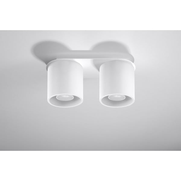Biała lampa sufitowa Nice Lamps Roda