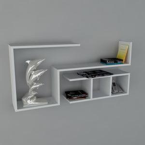 Półka Finito Book White, 22x117x55,5 cm