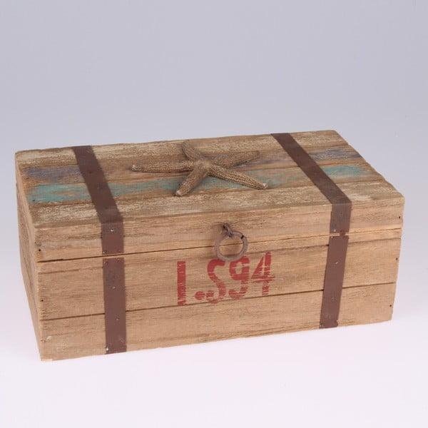Pudełko drewniane Dakls Sea Star