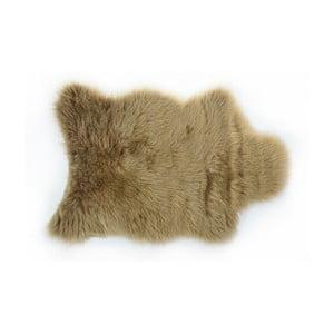 Brązowy   dywan futrzany Apolena, 50x70 cm